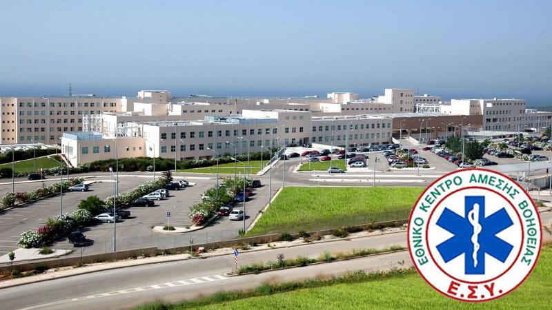 Άσκηση προσομοίωσης και ετοιμότητας του ΕΚΑΒ στο Νοσοκομείο Αλεξανδρούπολης για αντιμετώπιση ύποπτου περιστατικού Κορωνοϊού