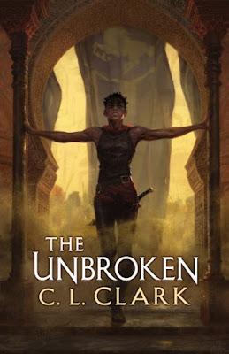 The Unbroken C.L. Clark book cover illumicrate