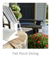 Fall Porch Sitting at Pieced Pastimes