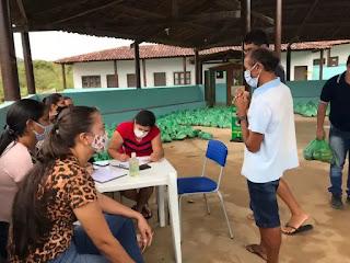 Prefeitura de Pilõezinhos realizou mais uma distribuição de alimentos do PAA