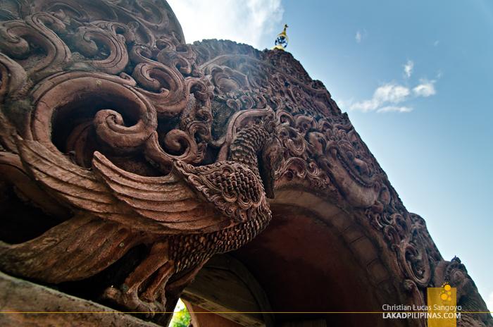 Wat Phan Tao Gate at Wat Chedi Luang Chiang Mai