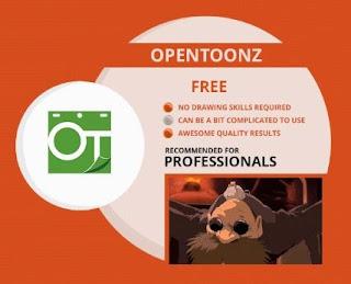 برنامج, الرسم, ثنائى, الابعاد, OpenToonz, اخر, اصدار