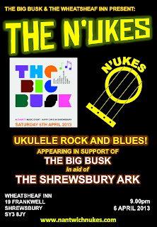 N'Ukes performing ukulele at The Big Busk
