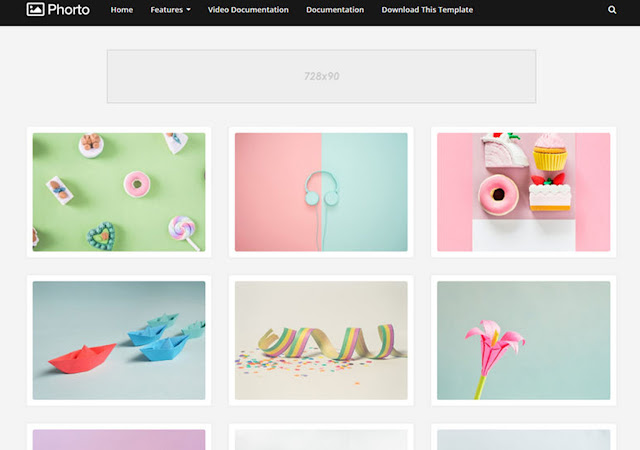 Phorto Blogger Template By Sora [ Download Now ]