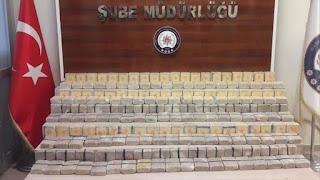 الشرطة التركية تضبط أكثر من 82 كيلوجرام من الهيروين شرق تركيا