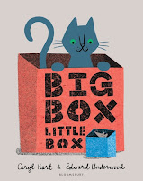 big box little box by caryl hart, illustrated by edward underwood cover