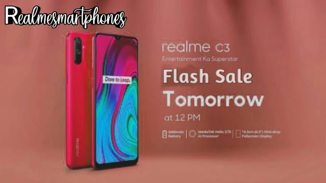 Realme C3 flash sale tomorrow 14 February, know the specifications of the phone.