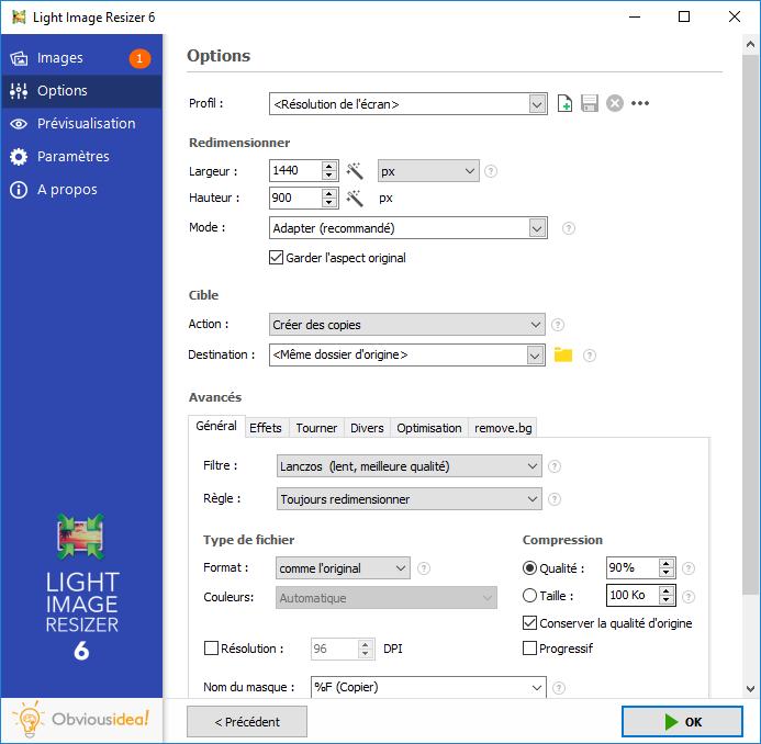 تحميل أفضل برنامج لتتغيير حجم الصور وتحويلها واحدة تلو الأخرى أو عدة ملفات دفعة واحدLight Image Resizer 6.0.0.18
