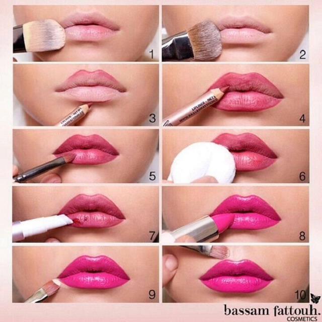 Maquillaje Labios Paso a Paso