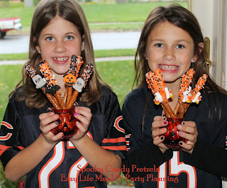 Spooky Candy Pretzels - Easy Life meal & Party Planning