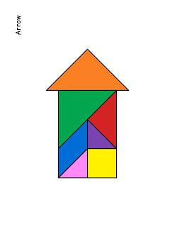 figuras de tangram
