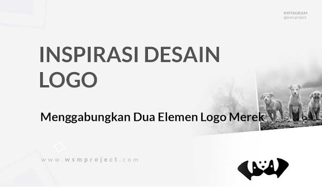 Menggabungkan Dua Elemen Logo Merek