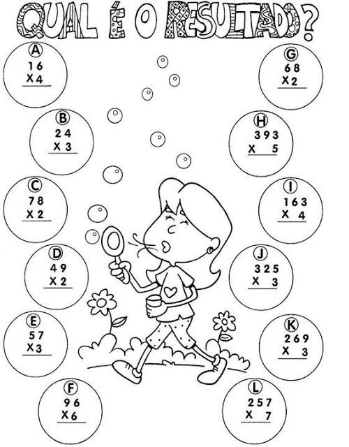 Slide110 Atividades Multiplicação