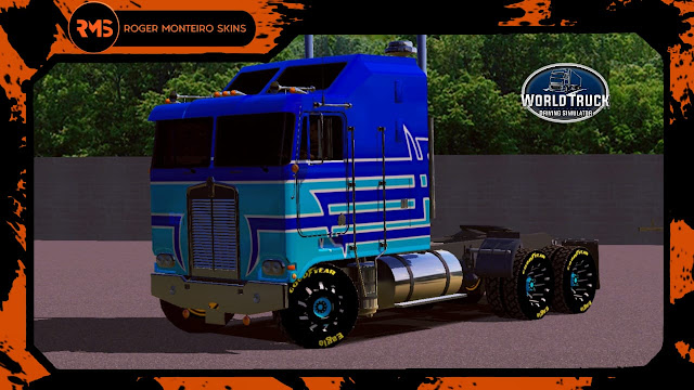 Skins World Truck, Skin K100, Kenworth, K100, Kenworth K100