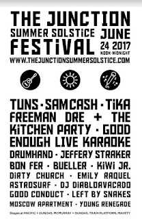 Junction Summer Solstice Festival, June 24, 2017 - Bands