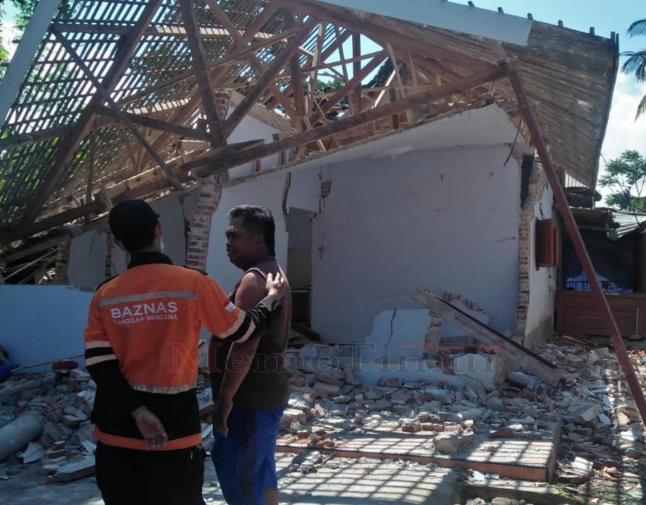 Baznas Lumajang Alokasikan Rp 400 Juta untuk Penanganan Dampak Gempa
