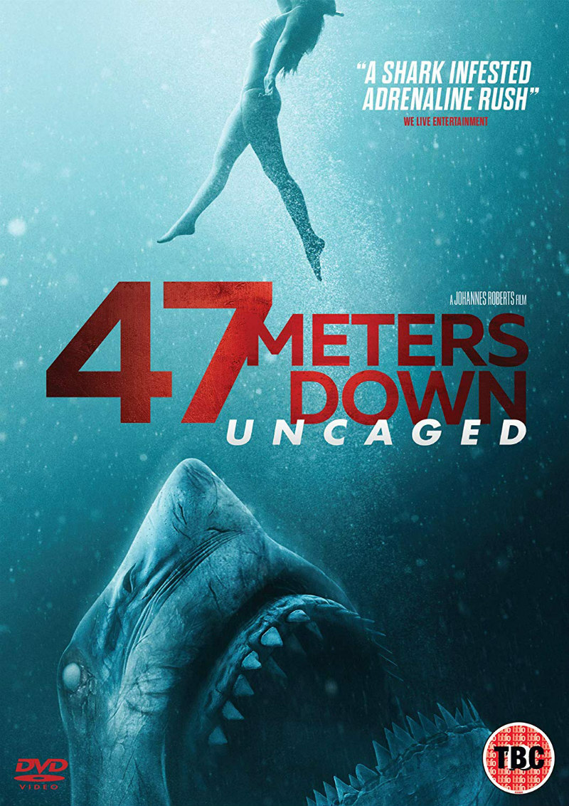 47 metres down uncaged dvd