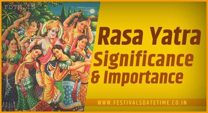 Shri Krishna Rasa Yatra: Know The Significance and Importance