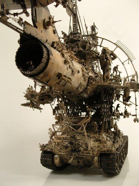 Kris Kuksi 1973 | American Surreal Visionary sculptor