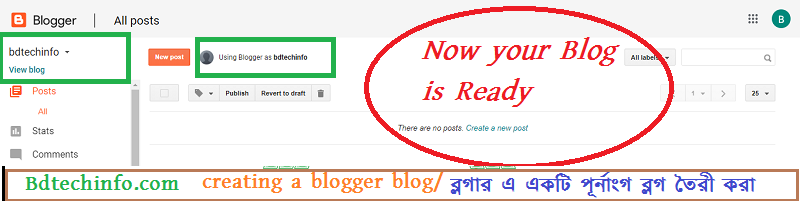 blogspot blog, creating a blogger blog.
