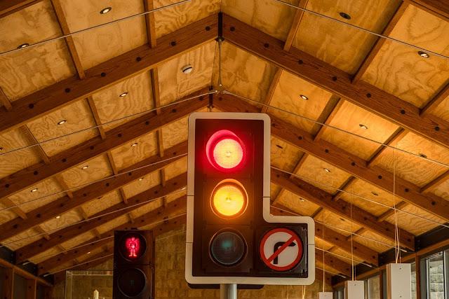 David Mellor design, traffic lights, design museum, cafe