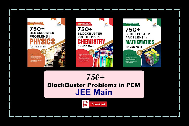 [PDF] Disha 750+ Blockbuster Problems in PCM for JEE Main | Download