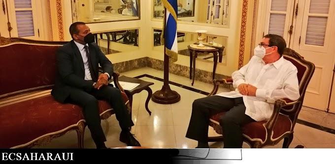El Representante del Frente Polisario en la ONU se reúne con el ministro de exteriores de Cuba.