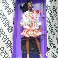 Кукла Барби африканка из коллекции Barbie BMR 1959