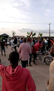 We don't want Ticket again for now, Keke Riders in Udu road protest