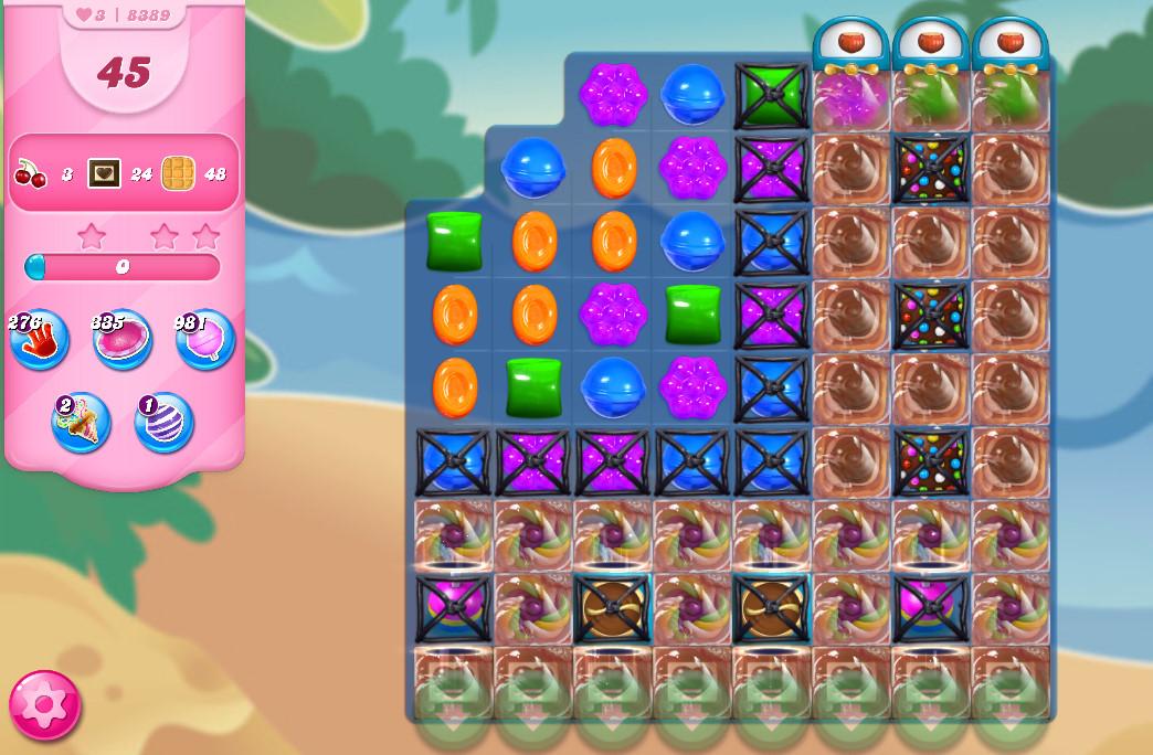 Candy Crush Saga level 8389