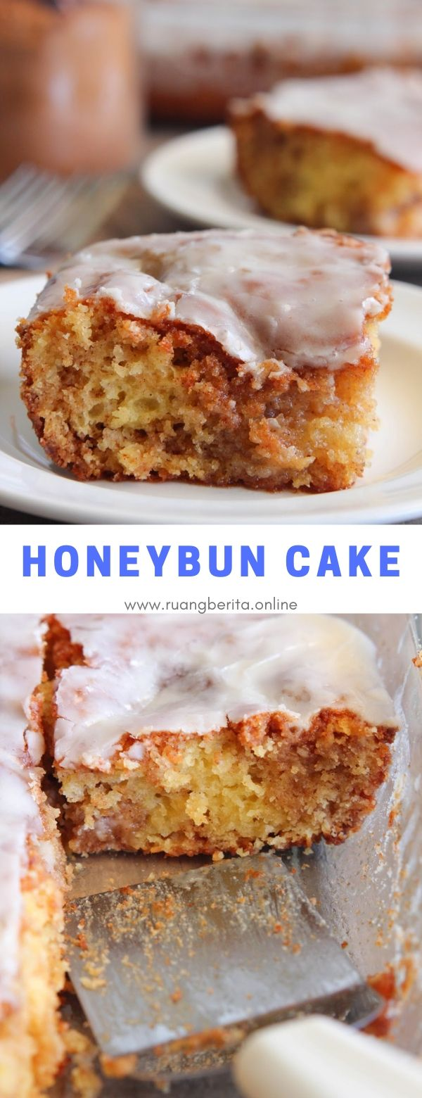 Honeybun Cake #dessert #honeybun #cake