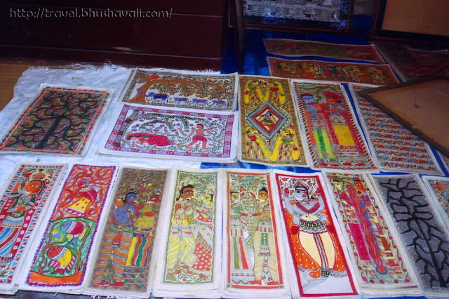 Madhubani at Crafts Museum New Delhi