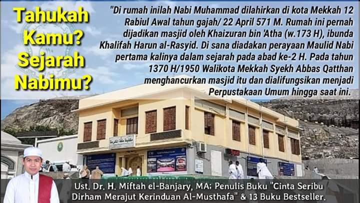 Sejarah Rumah Maulid Nabi Muhammad SAW