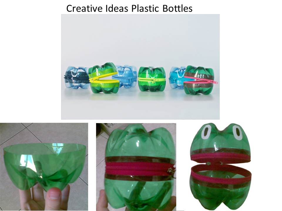 Creative ideas creative ideas plastic bottles for Creativity with plastic bottles