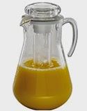 carafa suc de 3 litrii cu tub de gheata, accesorii profesionale bufet horeca