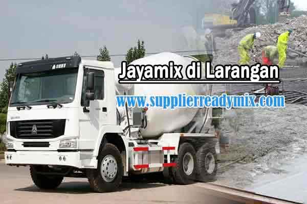 Harga Cor Beton Jayamix Larangan Per M3 2020