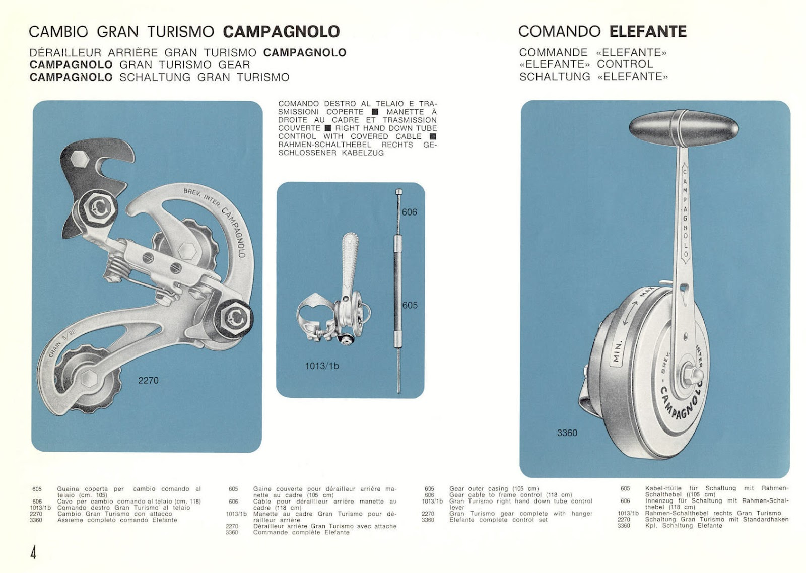 The Retrogrouch: Weird and Wild Campagnolo Gran Turismo