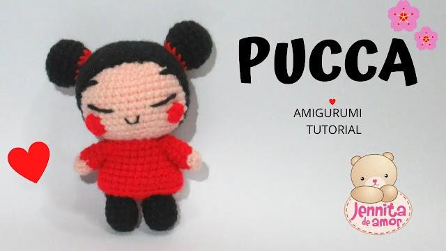 Aprende a Tejer Divertida Pucca Amigurumi a Crochet