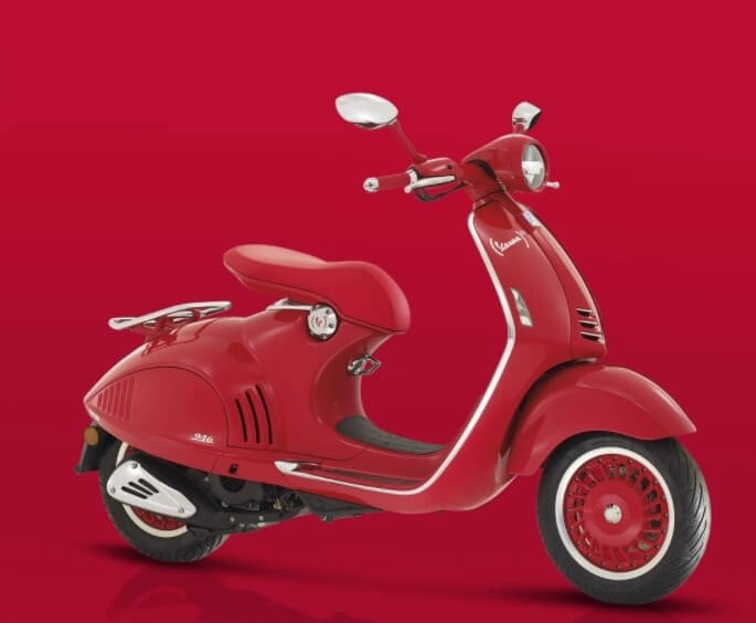 Vespa Red India Price in India, Launch Date, Specification
