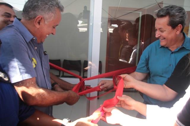 Senador Canedo: Base Integrada Comunitária de Segurança da Vila Galvão é inaugurada