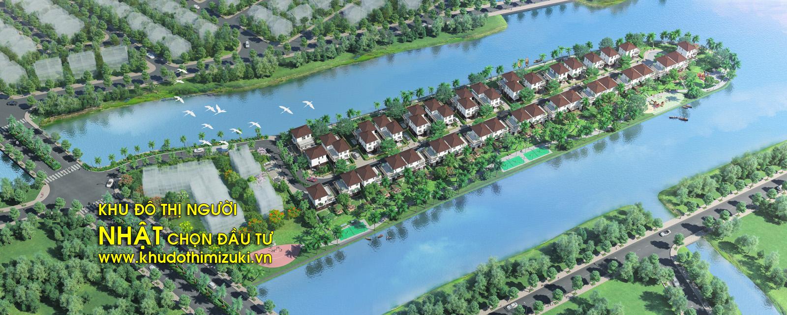 Khu đô thị Mizuki Bình Chánh