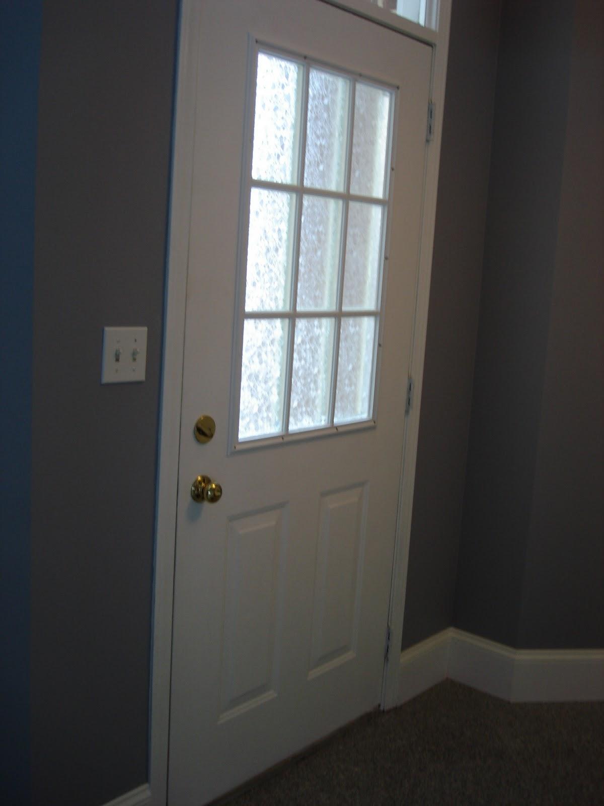 DG Style: Front Door Window Treatment