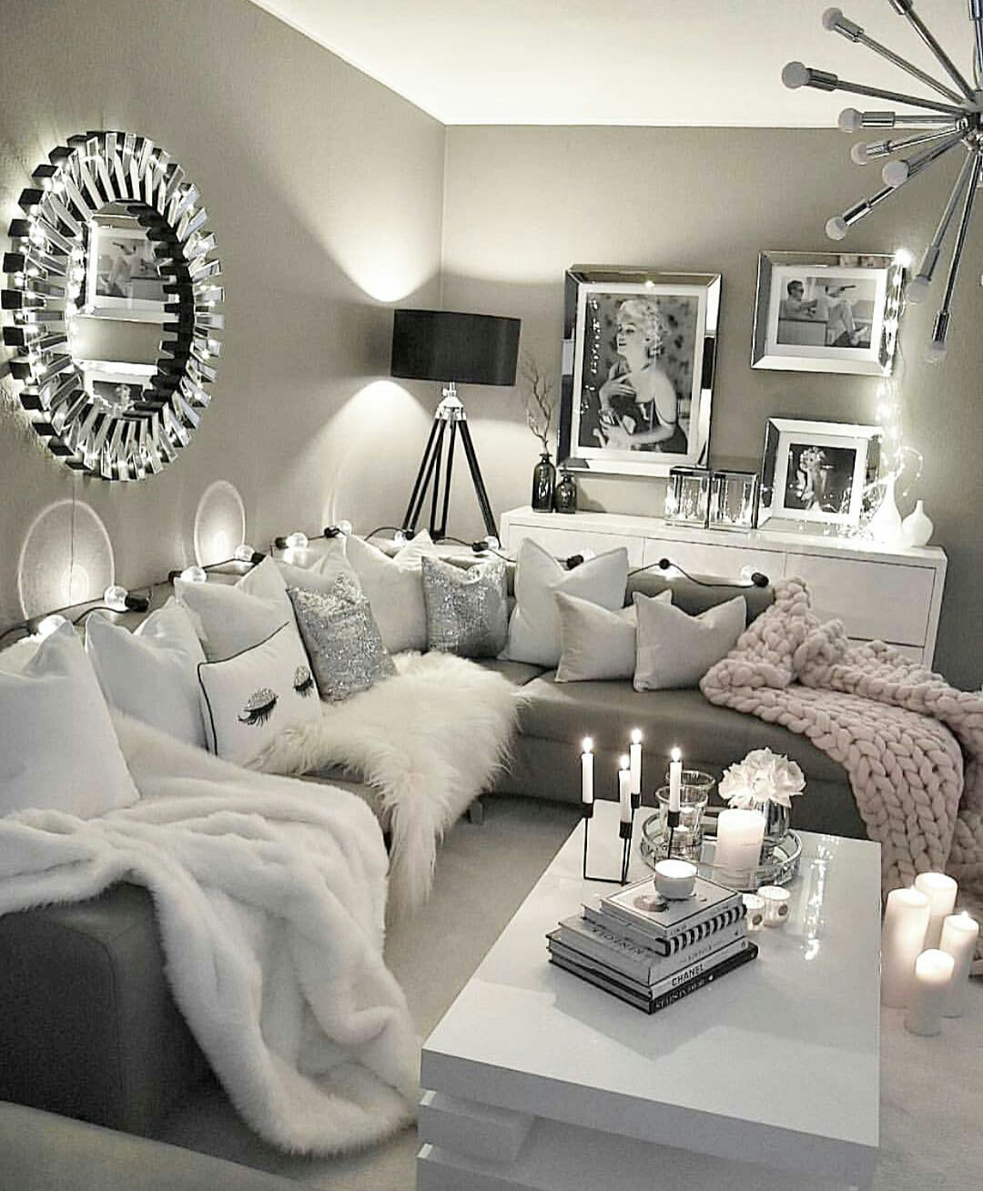 grey black and white living room ideje za uređenje dnevnog boravka foto veca world 25123