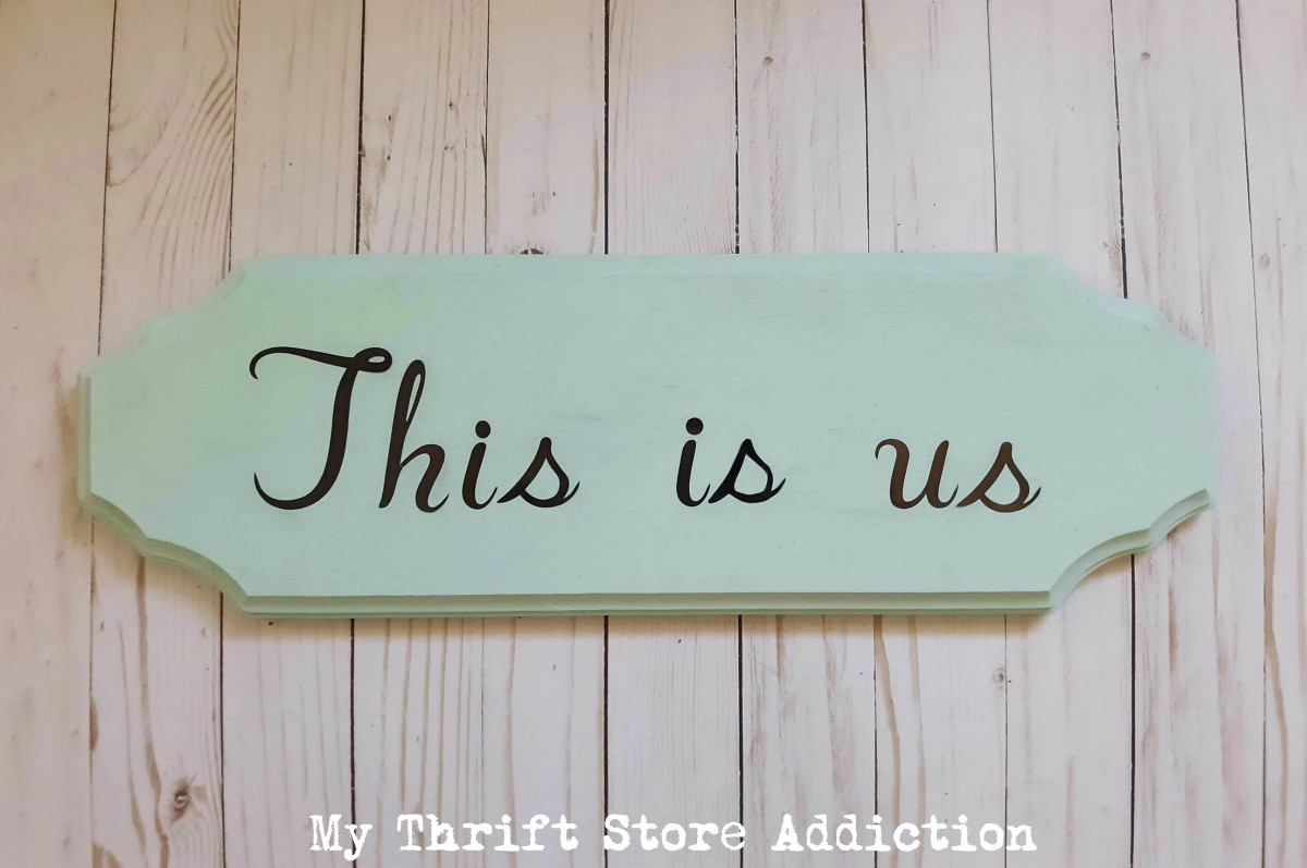 DIY This is us sign