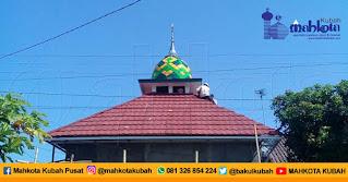 Pemasangan Kubah Masjid Enamel Cilacap