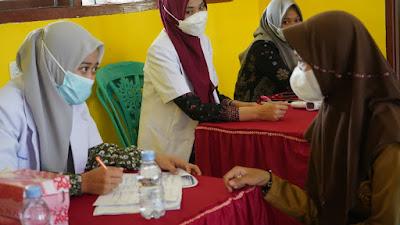 KNPI Bersama PMI Sidrap Gelar Vaksinasi Covid-19 di 9 Kecamatan