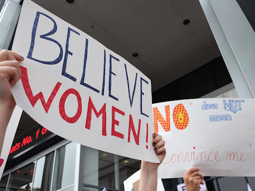 Believe women #MeToo