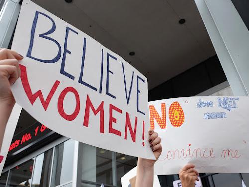 Believe women #MeToo