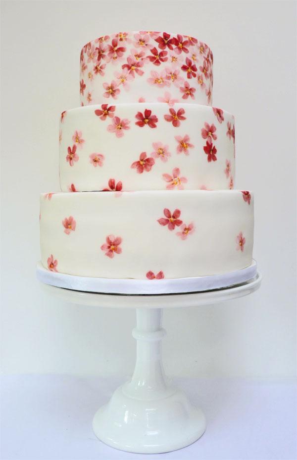 Amelie S House Cherry Blossom Wedding Cake