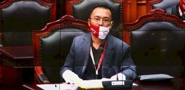 Pengakuan Ketua Badan Legislasi (Baleg) DPR RI Supratman Andi Agtas bahwa ada terkait minyak dan gas bumi yang hilan